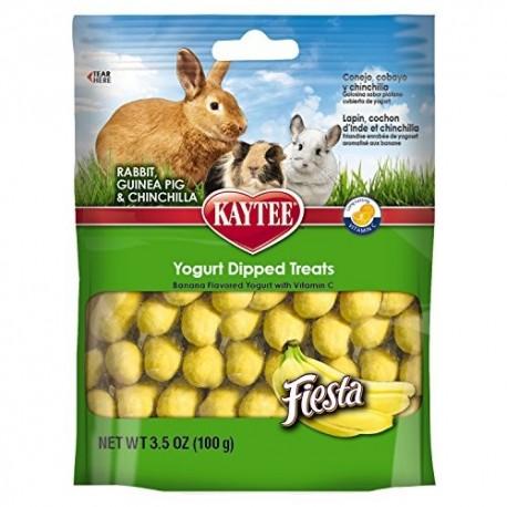 تشویقی با طعم موز و ماست همراه با ویتامین ث مخصوص خرگوش خوکچه هندی و چین چیلا