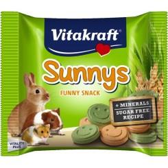 تشویقی واسنک های بامزه بدون شکر حاوی مواد معدنی شامل سبزیجات و غلات مناسب برای خرگوش خوکچه هندی و همستر