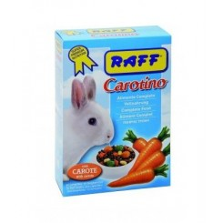 غذا کامل و مخلوط خرگوش شکلان حاوی هویج