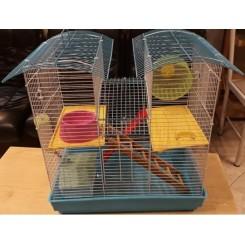 قفس مناسب برای همستر 2 طبقه