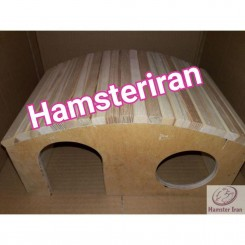 خانه چوبی خوکچه هندی اسکیمویی