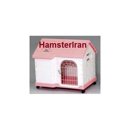 خانه کلبه ای پلاستیکی مناسب برای خوکچه هندی و خرگوش شکلان
