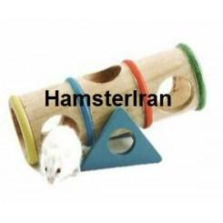 اسباب بازی تونل چوبی و الاکلنگ همستر