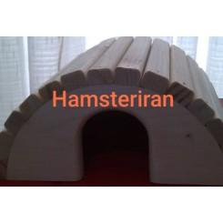 خانه چوبی همستر اسکیمویی
