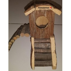 خانه چوبی همستر