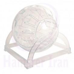 توپ بازی و چرخ و فلک همستر قطر 17 سانتی متر