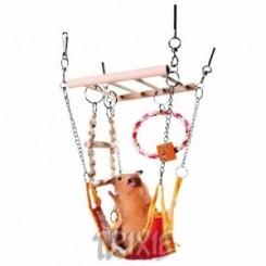 تاب همستر همراه با اسباب بازی های متعدد