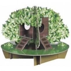 اسباب بازی بسیار جذاب برای همستر به صورت پیچ راهه مدل جنگل