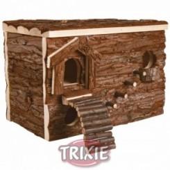 لانه چوبی همستر