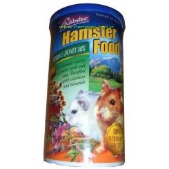 غذا تخصصی همستر حاوی سبزیجات و عسل