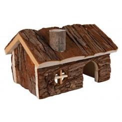 خانه چوبی همستر کوچک
