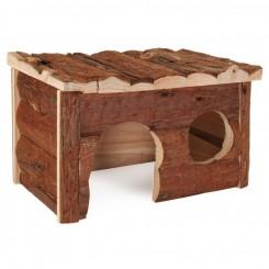 خانه چوبی خوکچه هندی و خرگوش
