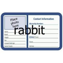 درخواست کارت هویت خرگوش