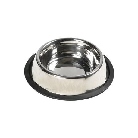 ظرف غذای استیل قطر 16 ( خوکچه هندی , خرگوش , سگ , گربه )