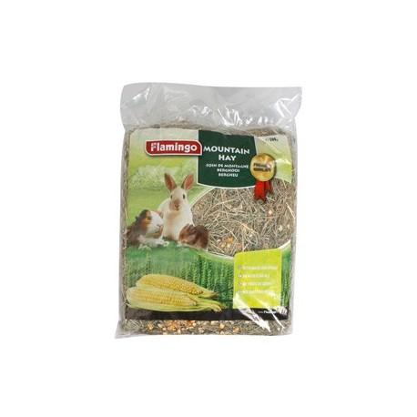 یونجه جوندگان همراه با ذرت و گندم (همستر , خوکچه هندی و خرگوش)